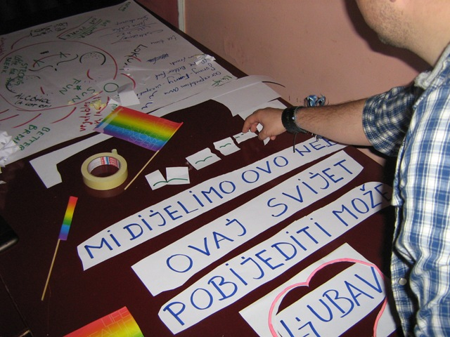 "International training course ""Sing Equality - Bring Equality"", Novi Sad"