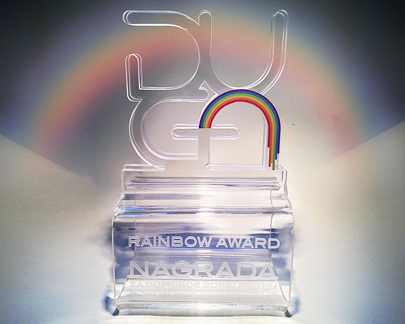 Rainbow Award – to the Department for community policing of the Ministry of Interior