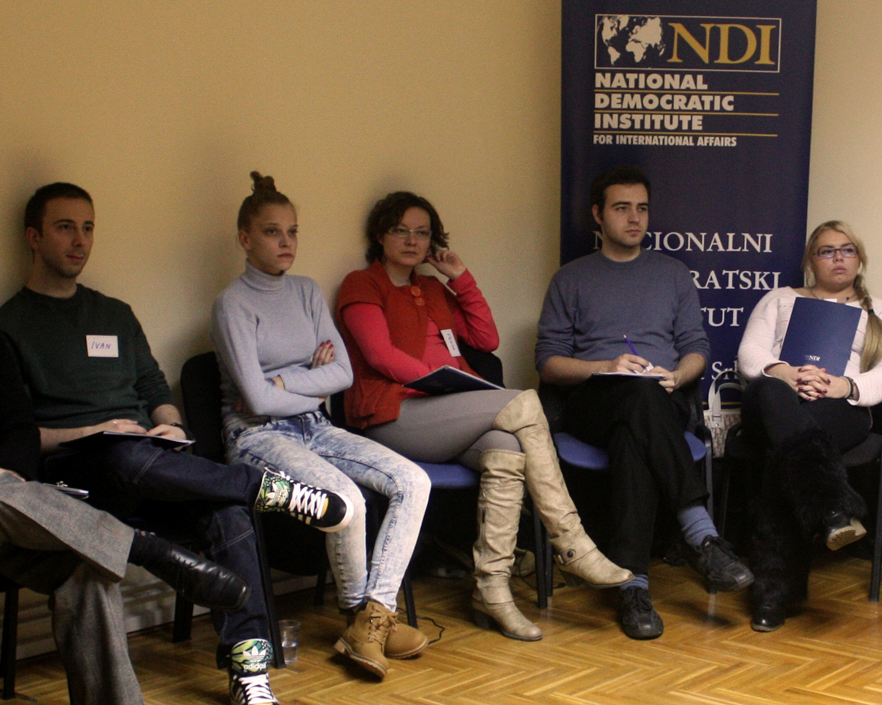 NDI training for young GSA activists began