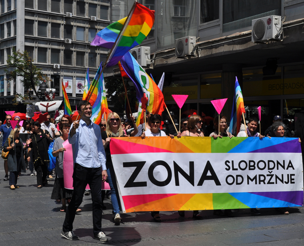 "International Pride Day marked by the action ""Hate-Free Zone"""